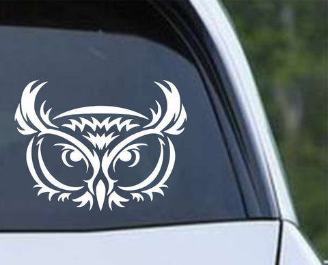 Owl (06) Die Cut Vinyl Decal Sticker
