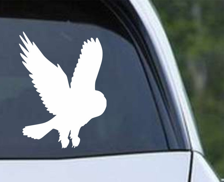 Owl (07) Die Cut Vinyl Decal Sticker - Decals City