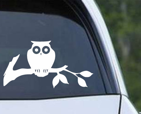 Owl (12) Die Cut Vinyl Decal Sticker