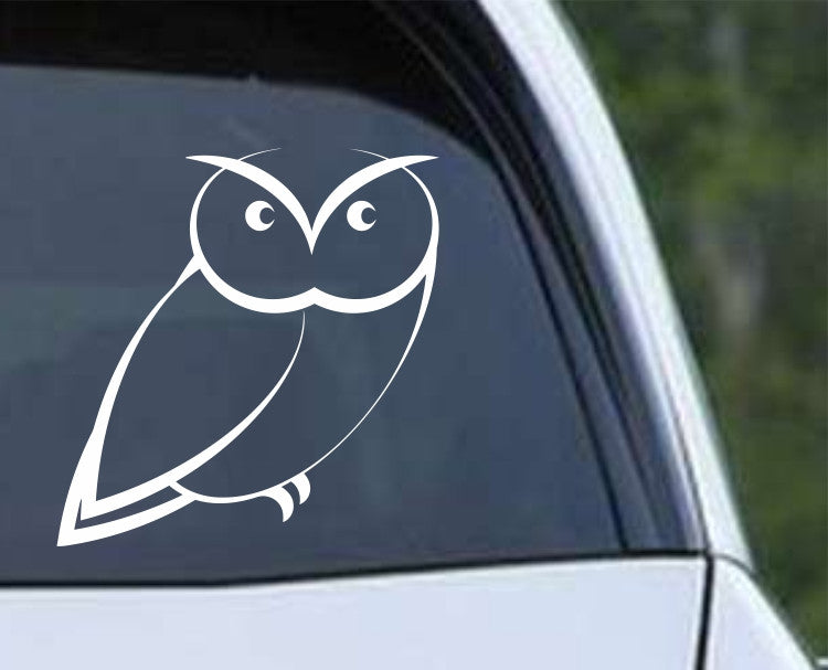 Owl (27) Die Cut Vinyl Decal Sticker - Decals City