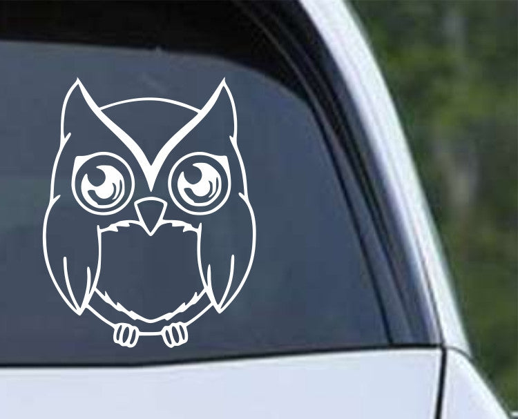 Owl (29) Die Cut Vinyl Decal Sticker - Decals City