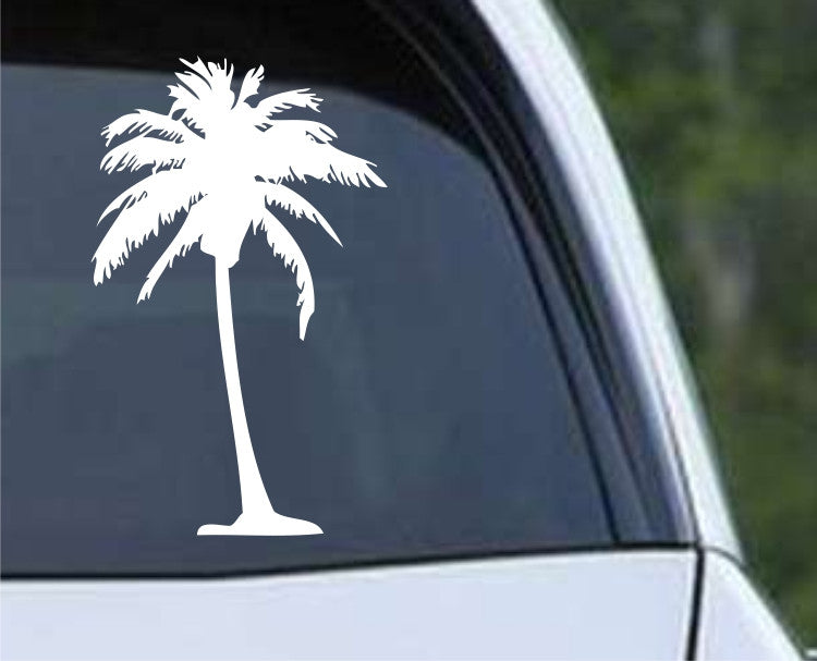 Palm Tree (01) Die Cut Vinyl Decal Sticker - Decals City