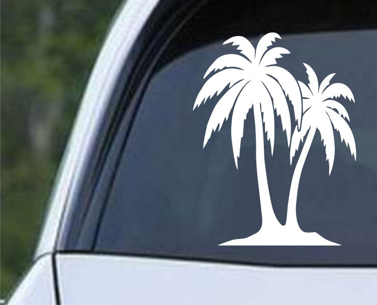 Palm Tree (03) Die Cut Vinyl Decal Sticker - Decals City
