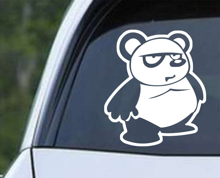 Panda Bear Cartoon (a) Die Cut Vinyl Decal Sticker - Decals City