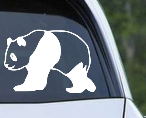 Panda Bear (b) Die Cut Vinyl Decal Sticker