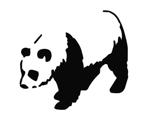 Panda Bear (a) Die Cut Vinyl Decal Sticker