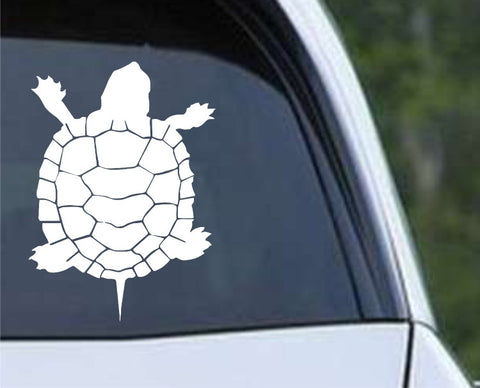 Pet Turtle Die Cut Vinyl Decal Sticker
