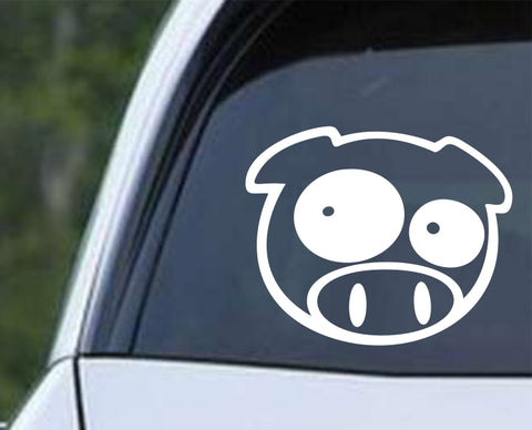 Pig - Rally Funny Die Cut Vinyl Decal Sticker
