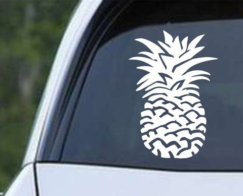 Pineapple Hawaiian Fruit Die Cut Vinyl Decal Sticker