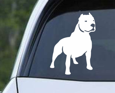 Dog - Pit Bull Die Cut Vinyl Decal Sticker - Decals City