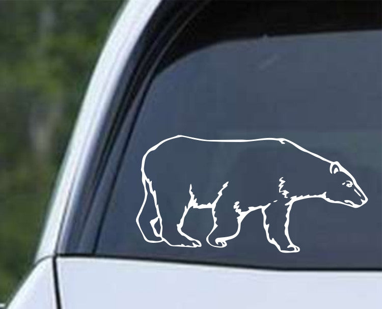 Polar Bear Die Cut Vinyl Decal Sticker - Decals City