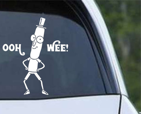 Rick and Morty - Mr Poopy Butthole Die Cut Vinyl Decal Sticker - Decals City