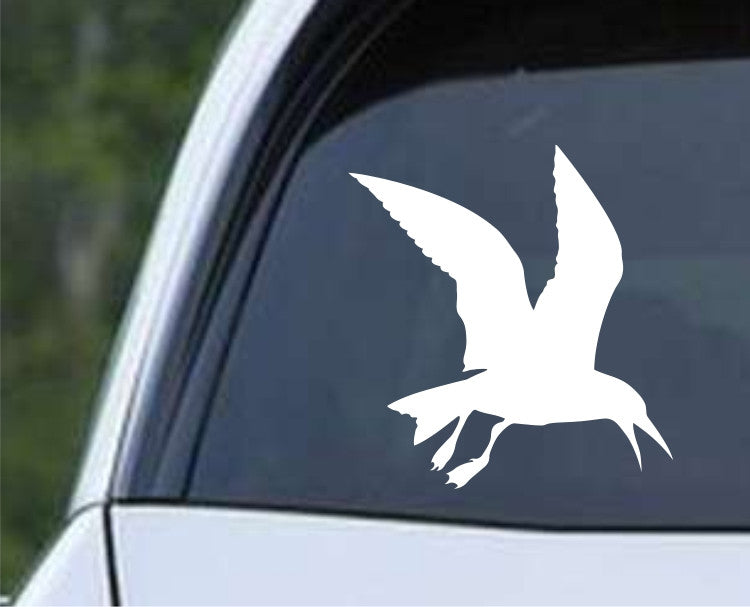 Seagull Silhouette Die Cut Vinyl Decal Sticker - Decals City