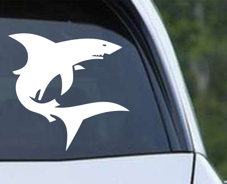Shark (03) Die Cut Vinyl Decal Sticker