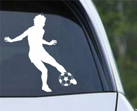 Soccer Player (c) Die Cut Vinyl Decal Sticker