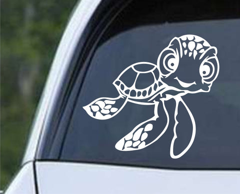 Squirt the Sea Turtle from Finding Nemo Die Cut Vinyl Decal Sticker