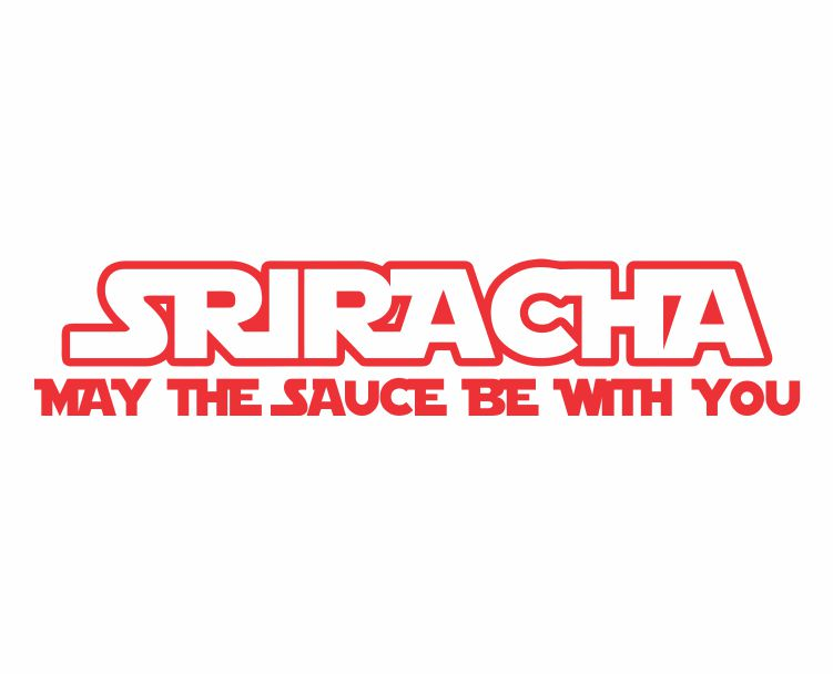 Sriracha ver a Die Cut Vinyl Decal Sticker - Decals City