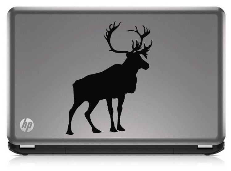 Stag Silhouette Hunting HNT1-55 Die Cut Vinyl Decal Sticker - Decals City