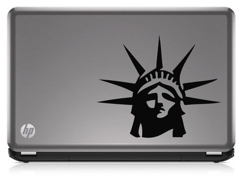 Statue of Liberty (03) Patriotic Die Cut Vinyl Decal Sticker - Decals City