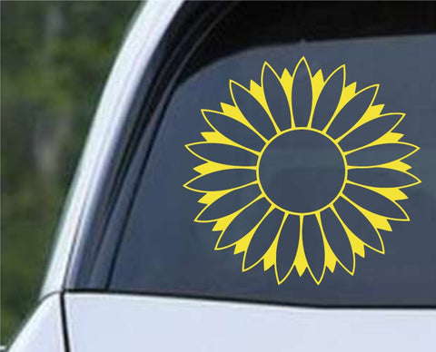 Sunflower Die Cut Vinyl Decal Sticker