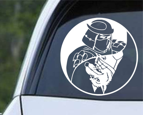Teenage Mutant Ninja Turtles TMNT - Shredder Splinter Yin Yang Die Cut Vinyl Decal Sticker