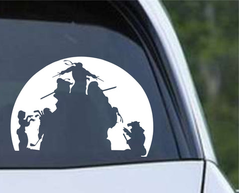 Teenage Mutant Ninja Turtles TMNT - Zombies Die Cut Vinyl Decal Sticker