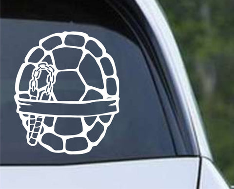 Teenage Mutant Ninja Turtles TMNT - Michelangelo Die Cut Vinyl Decal Sticker