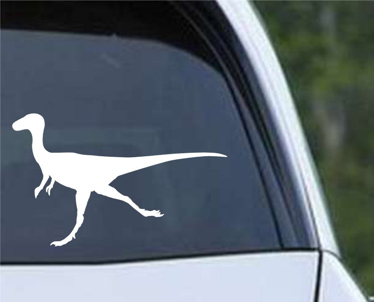 Theropod Dinosaur Silhouette Die Cut Vinyl Decal Sticker - Decals City