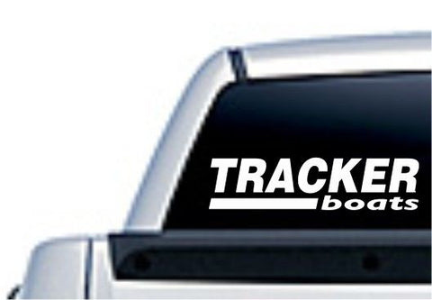 Tracker Boat Logo Die Cut Vinyl Decal Sticker - Decals City