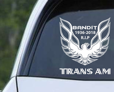 Pontiac - Trans Am Bandit Die Cut Vinyl Decal Sticker - Decals City