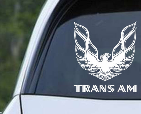 Pontiac - Trans Am Screaming Eagle Die Cut Vinyl Decal Sticker - Decals City