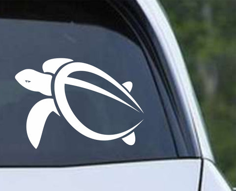 Turtle - Hawaii Sea Turtle Die Cut Vinyl Decal Sticker - Decals City
