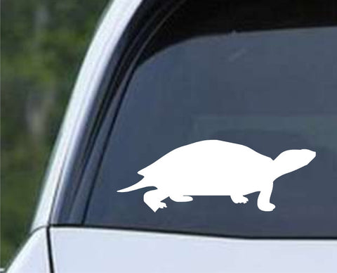Turtle Tortoise Die Cut Vinyl Decal Sticker