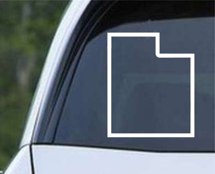 Utah State Outline UT - USA America Die Cut Vinyl Decal Sticker - Decals City