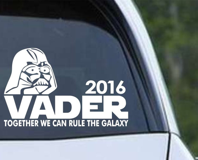 Star Wars - Vader 2016 - Darth Vader for President Die Cut Vinyl Decal Sticker - Decals City