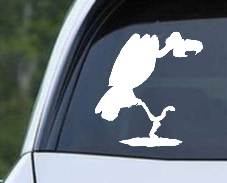 Vulture Silhouette (a) Die Cut Vinyl Decal Sticker - Decals City