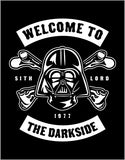 Welcome to the Darkside Short Sleeve T-Shirt up to 5XL - Decals City