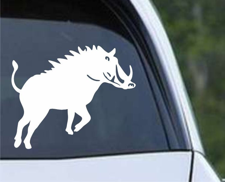 Wild Boar Hog (01) Die Cut Vinyl Decal Sticker