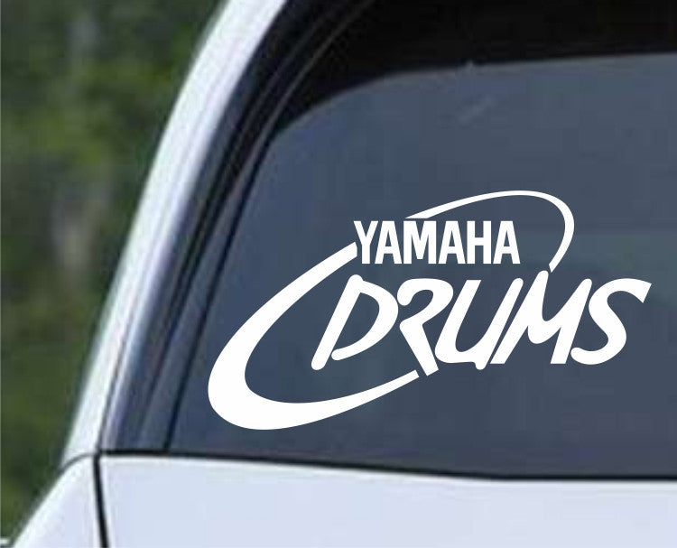 Yamaha Drums Percussion Die Cut Vinyl Decal Sticker - Decals City