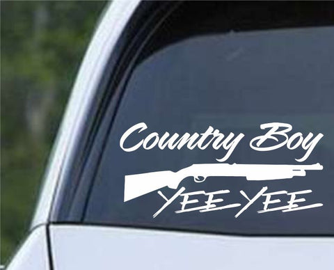 Earl Dibbles Jr - Yee Yee Country Boy Die Cut Vinyl Decal Sticker