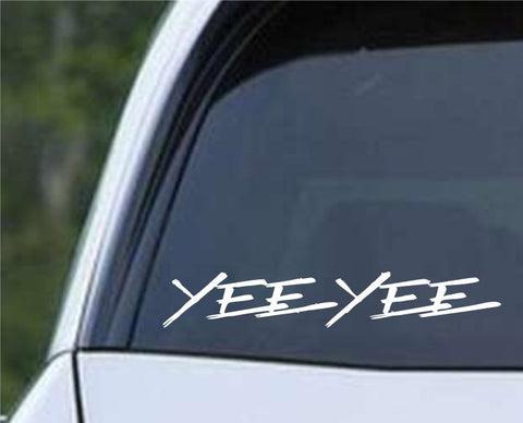 Yee Yee Die Cut Vinyl Decal Sticker