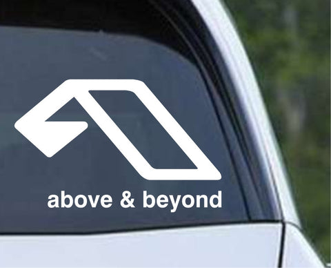 Above and Beyond Trance Techno Die Cut Vinyl Decal Sticker