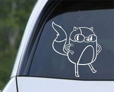 Adventure Time Cake the Cat Die Cut Vinyl Decal Sticker