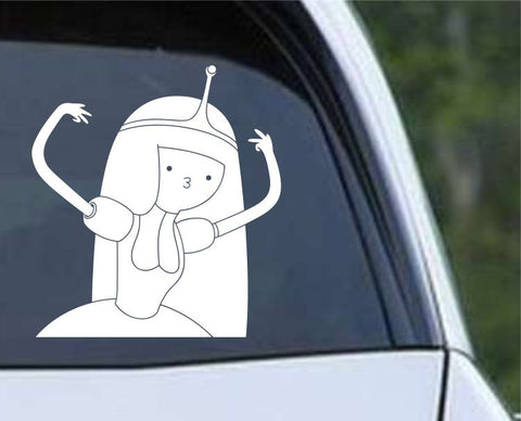 Adventure Time Gangsta Princess Bubblegum Die Cut Vinyl Decal Sticker - Decals City