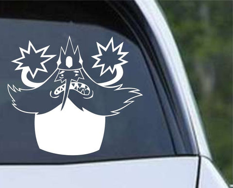 Adventure Time Ice King Die Cut Vinyl Decal Sticker - Decals City