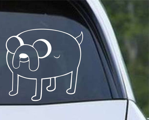 Adventure Time Jake the Dog Die Cut Vinyl Decal Sticker
