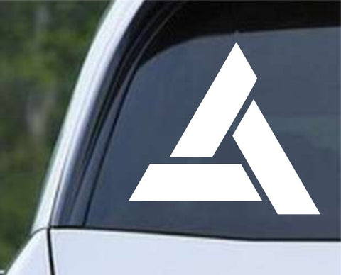 Assassin's Creed Abstergo Logo Die Cut Vinyl Decal Sticker - Decals City