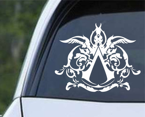 Assassin's Creed Filigree Logo (02) Die Cut Vinyl Decal Sticker - Decals City