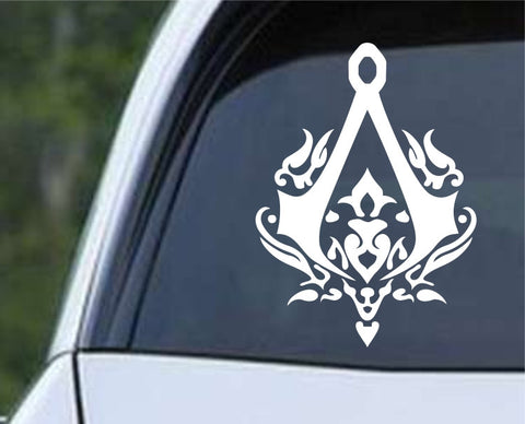Assassin's Creed Filigree Logo Die Cut Vinyl Decal Sticker