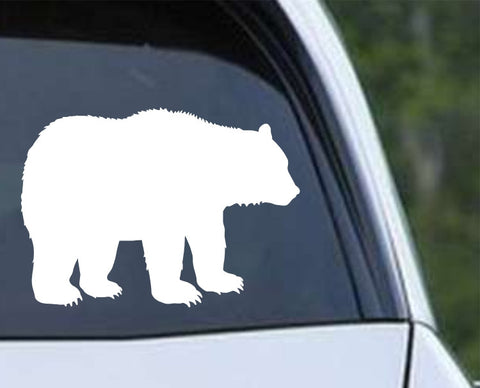 Bear Silhouette (b) Die Cut Vinyl Decal Sticker - Decals City
